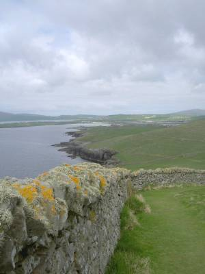 The southern tip of Shetland